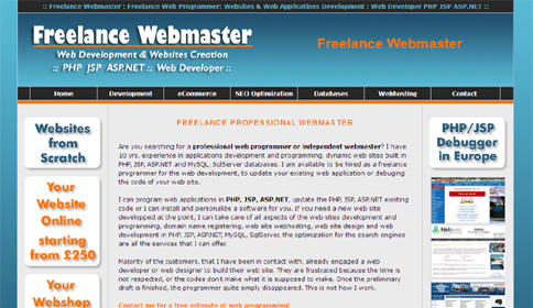Webmaster London Softwebdesign